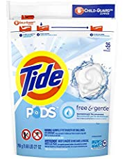 Tide Pods Free & Gentle Liquid Laundry Detergent Pacs, 35 Count