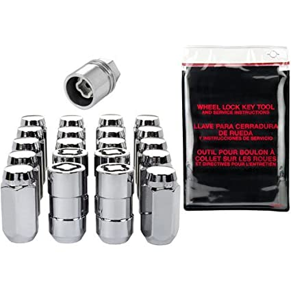 Amazon.com: McGard 84520 Chrome Acorn/Conical Seat Lug Nut Kit: Automotive