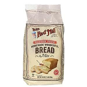 One 16 oz Bob's Red Mill Homemade Wonderful Gluten-Free Bread Mix