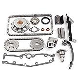 ECCPP Fits 1995 1996 1997 1998 Nissan 200SX 1.6L 1597CC 97CID l4 DOHC GA16DE Engine Timing Chain Kit