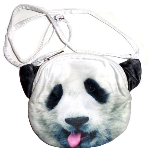 Tiger Clutch (Animal Photo Print Purse Handbag Clutch Cat Panda Tiger (Panda))