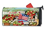 MailWraps Patriotic Pillows Large Magnetic Mailbox Cover #21291