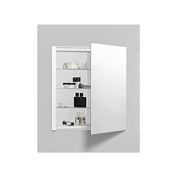 robern r3series plain mirror medicine cabinet