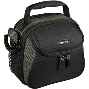 Euro Collection Medium Oval Zip Top Camera Bag