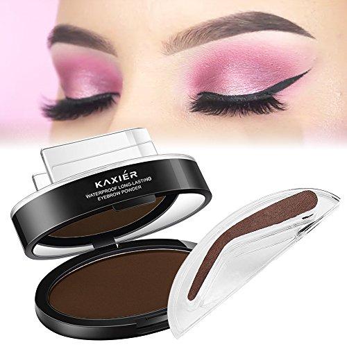 Prefect Eyebrow Stamp Powder In Seconds All New Design Pro Set 3 1 Dark Brown