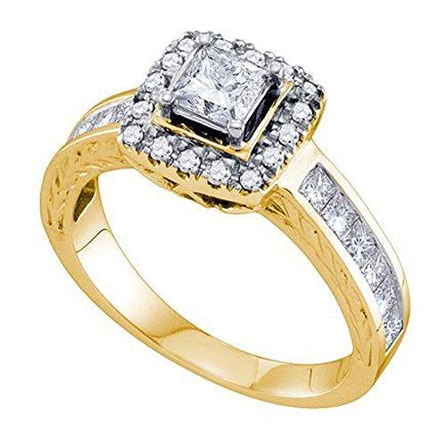 0.39 Ct Princess Diamond - 5