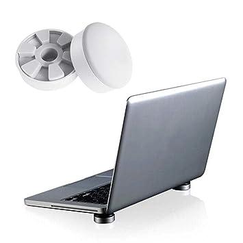 Womdee - Soporte Compacto de Aluminio para Ordenador portátil y radiato (2 Unidades): Amazon.es: Hogar