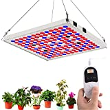 LED Grow Light for Indoor Plants with 24H Cycle Timer, TOPLANET 75W Full Spectrum Light Plant Growing Lamp with IR Bulbs for Grow Box Hydroponics Greenhouse Veg and Flowers Seedlings Bloom