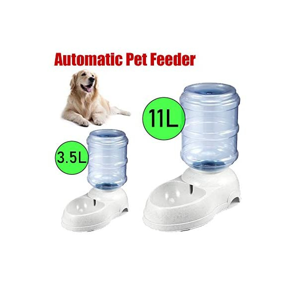 Audza Large Automatic Pet Dog Cat Water Feeder Bowl Bottle Dispenser Plastic 3.5L/11L Click on image for further info.