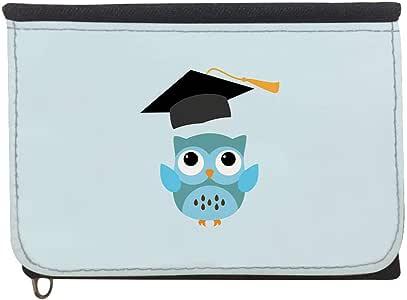 Graduation - Owl picture Printed Case Wallet,  jeans