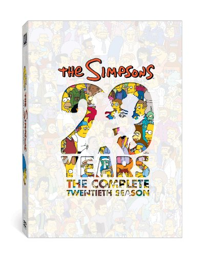 DVD : The Simpsons: The Complete Twentieth Season (, Dubbed, Dolby, AC-3, Widescreen)