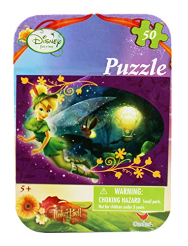 Disney's Tinker Bell in Peter Pan Costume Small Kids Puzzle (50pc) ()