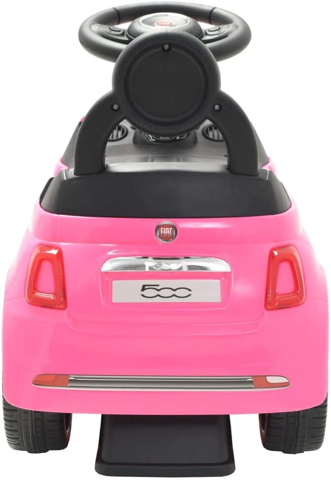 vidaXL Rutschauto FIAT 500 Blau Kinderauto Kinderfahrzeug Rutscher Kinder Auto