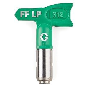 Graco FFLP312 Fine Finish Low Pressure RAC X Reversible Tip for Airless Paint Spray Guns