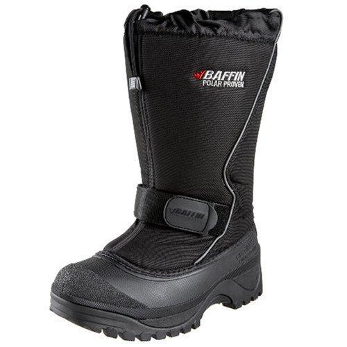 Baffin Men's Tundra Snow Boot,Black,9 M -