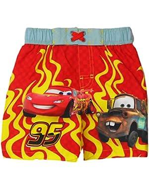 Toddlers Pixar Cars Boys Swim Trunk 2T