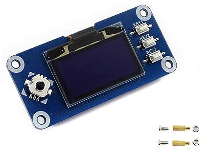 Amazon Com Waveshare 1 3inch Ips Lcd Display Hat 240x240 Pixel Spi