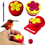 Aroma Trees Handheld Hummingbird Feeders with Perch (Mix Color) (2, Mix)