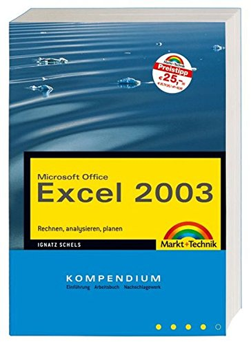 Excel 2003 Kompendium (Kompendium / Handbuch)