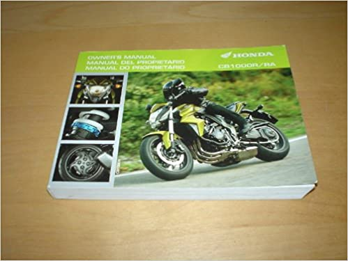 Honda Motorcycle Cb1000r Cb1000ra Owners Handbook Manual Cb 1000r