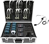 Califone WS-TG10 WS Series 10-person Tour Group Guide/Assistive Listening System Package