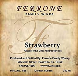 NV Ferrone Family Winery Strawberry 750 mL
