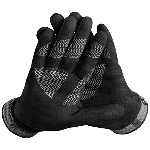 TaylorMade Rain Control Glove (Black/Gray, Medium/Large), Black/Gray(Medium/Large, Pair)