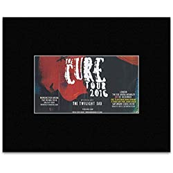 The Cure - Uk Tour 2016 Mini Poster - 30.3x25.4cm