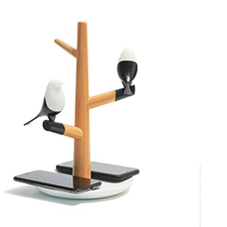 Lámpara de cabecera Cargador inalámbrico de alta velocidad ...
