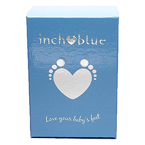 Inch Blue Girls Boys Luxury Leather Soft Sole Pram Shoes - Raccoon Black