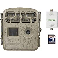 Moultrie 6 MP Infrared Game Camera + Smartphone SD Card Reader + 8GB SD Card