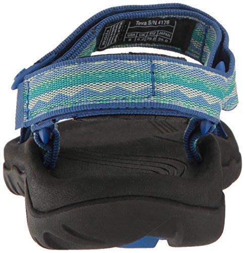 Teva Hurricane Xlt Ws, Zapatillas de Atletismo para Mujer Azul (Lago Blue)