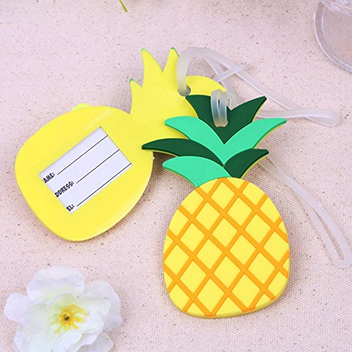 96pcs Pineapple Luggage Tag Baby Shower Gifts & Wedding Favors by cute rabbit