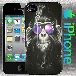 Cosmic Monkey Smoke 'Em iPhone 5 Case