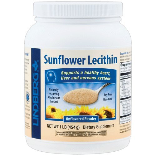 Lindberg Sunflower Lecithin Unflavored 1 Pound