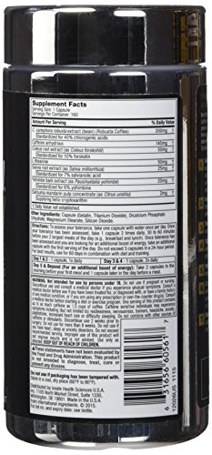 MuscleTech Hydroxycut SX 7, Black Onyx, 160 Count by MuscleTech (Image #4)