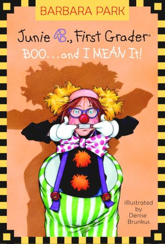 Boo.. and I Mean It! (Junie B., First Grader) (A Stepping Stone Book(TM))]()