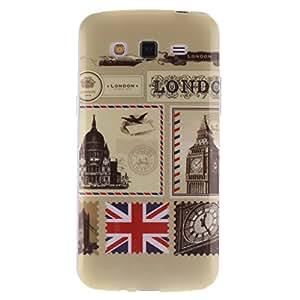 ANGELLA-M Case For Samsung Galaxy Grand 2 II G7102 G7105 G7109 Retro UK London Flexible Silicone Slim Soft TPU Gel Protection Back Cover.