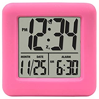 La Crosse Technology 70902 Soft Cube LCD Alarm Clock (Pink) (B002K8W54O) | Amazon price tracker / tracking, Amazon price history charts, Amazon price watches, Amazon price drop alerts