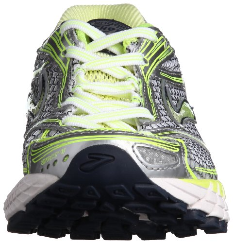 6 UK3 Lime Silver Ghost Ladies Shoes Running BROOKS 150wH0