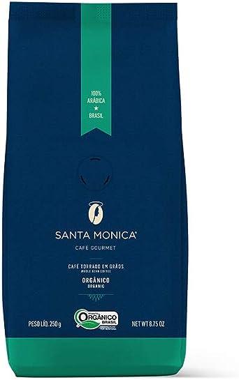 Cafe Santa Monica Café Organico em Grãos, 250gr