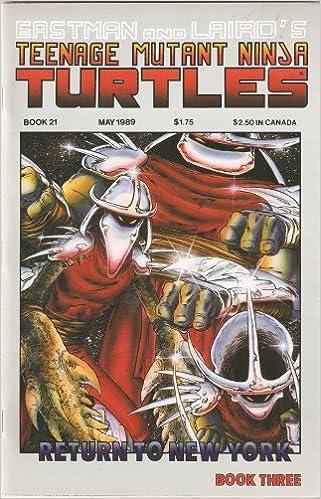 Teenage Mutant Ninja Turtles #21 (Return to New York Book ...