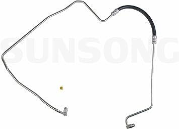 Sunsong 3401850 Power Steering Pressure Line Hose Assembly