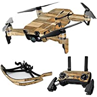 MightySkins Skin for DJI Mavic Air Drone - Reclaimed Wood | Max Combo Protective, Durable, and Unique Vinyl Decal wrap cover | Easy To Apply, Remove, and Change Styles | Made in the USA