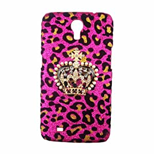 xhorizon TM Hot New Deluxe Pink Leopard Cutie Grand Crown Case Cover For Samsung Galaxy Mega 6.3 i9200