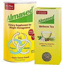 Almased Diet Protein Powder and Wellness Tea
