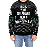Best Girlfriend Sweaters - Adult Home Alone Buzz Your Girlfriend Woof Sweater Review