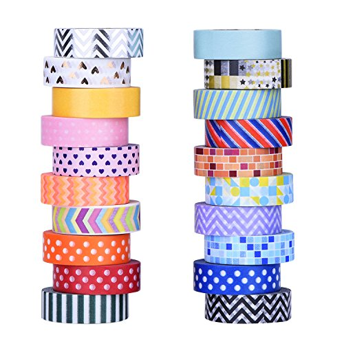 Mudder Colorful Decorative Scrapbooks Wrapping
