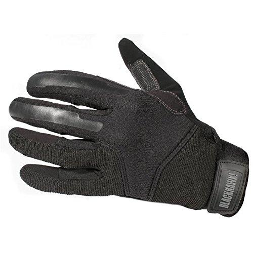 Blackhawk Men's CRG1 Cut Resistant Patrol Gloves with Kevlar (Black, Large)
