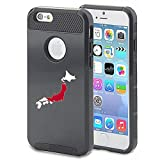 Apple iPhone 5 5s Shockproof Impact Hard Case Cover Japan Japanese Flag (Black )
